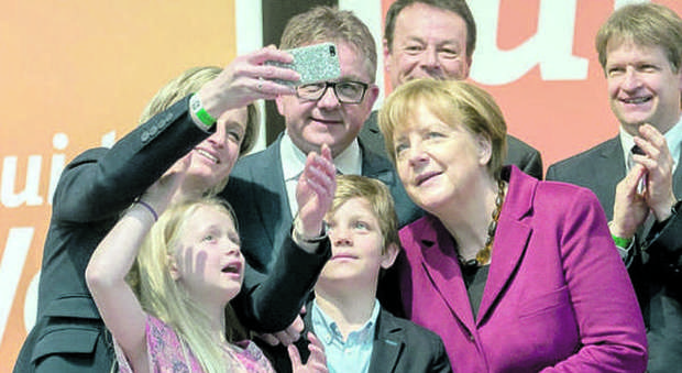 CDU final campaign event in Baden-Wuerttemberg